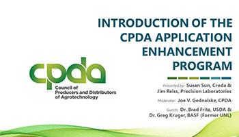 CPDA Application Enhancement Program